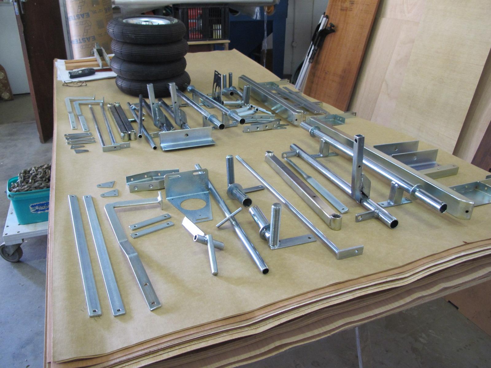 CKD Boats - Roy Mc Bride: Toylander engineering part sets