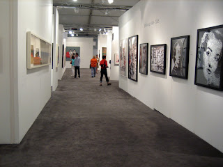 Interior hallway of Art Miami