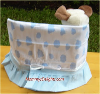 Cute Diaper Cake Chair