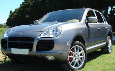 vente v hicules porsche cayenne turbo 450 cv. Black Bedroom Furniture Sets. Home Design Ideas