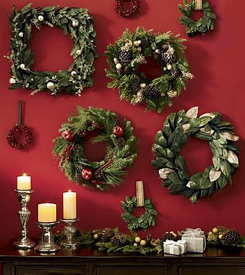 d e t a i l s christmas wreaths. Black Bedroom Furniture Sets. Home Design Ideas