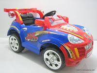 2 Mobil Mainan Aki PLIKO PK9100N  TURBO S