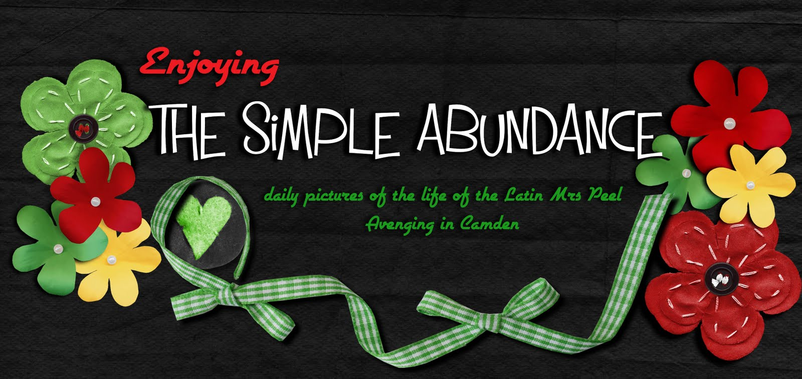Enjoying The Simple Abundance