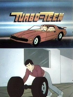 Classic 80s Cartoon Transformation Scene