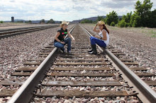en las vias del tren