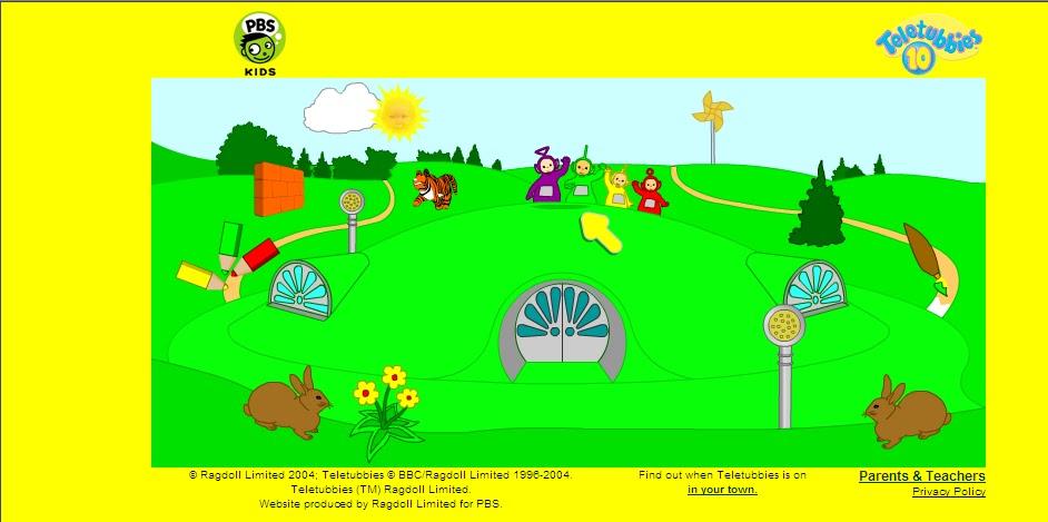 teletubbies splat game bing images