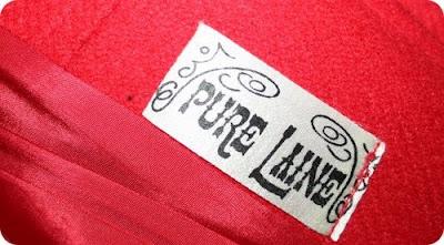 pure laine vintage coat