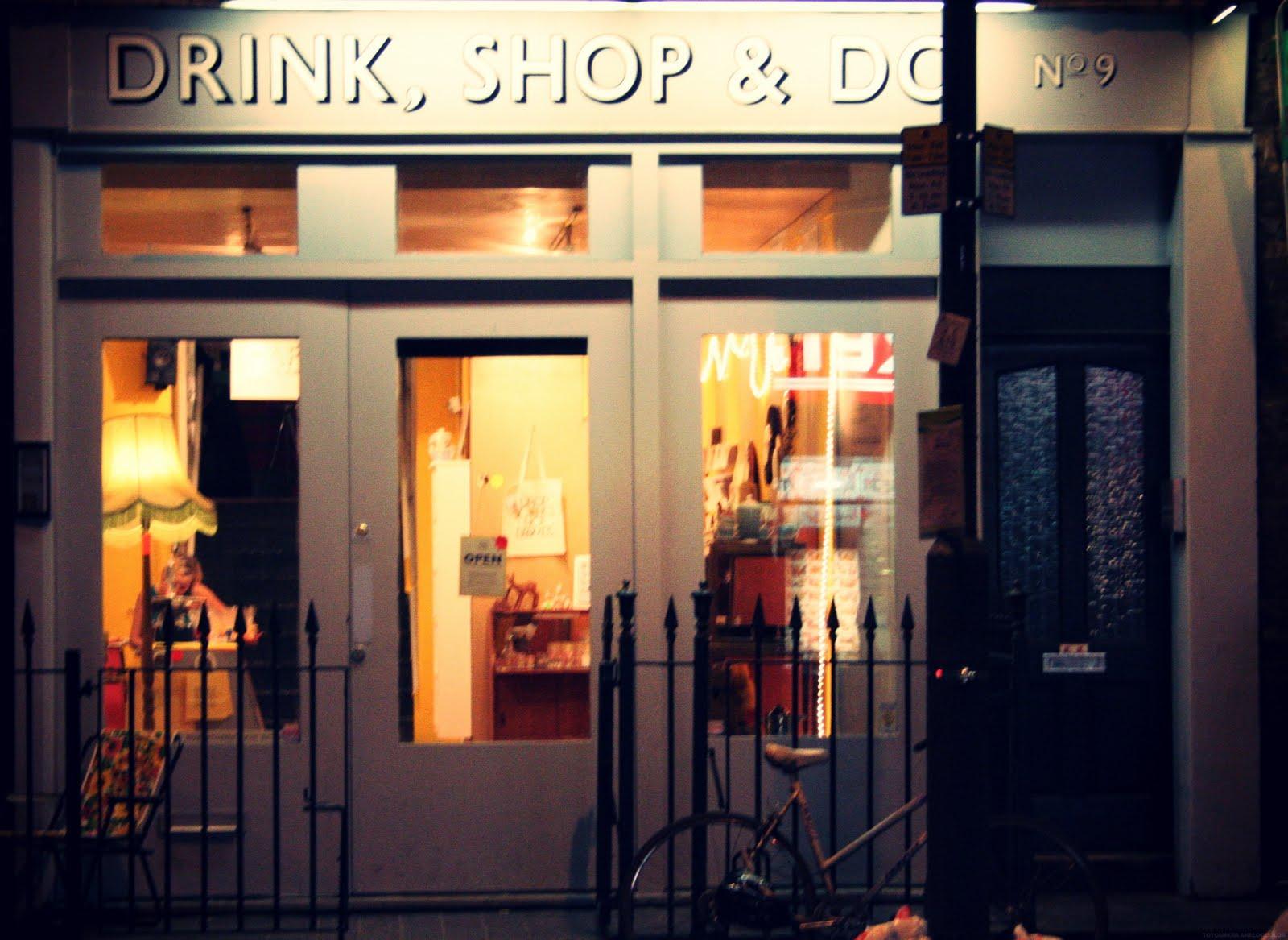 Drink Shop & Do with BookApartmentsinLondon.co.uk