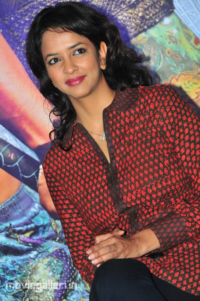 Lakshmi Manchu at Anaganaga Oka Dheerudu Website Launch