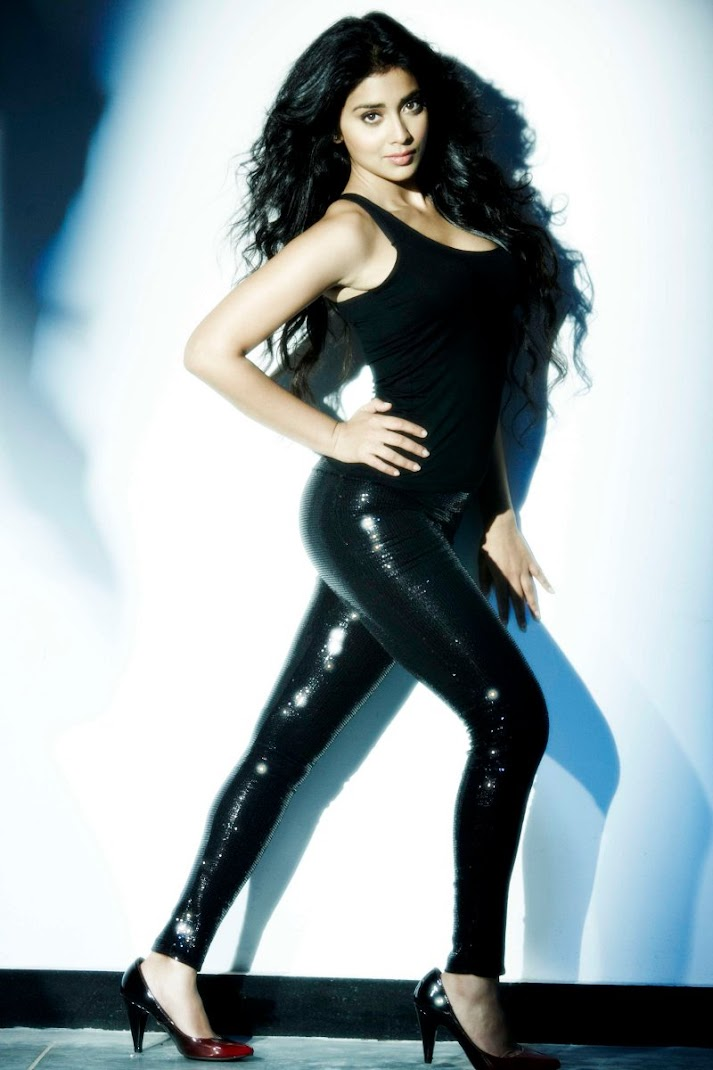 Shriya Saran Latest Sexy Photoshoot in Skintight Dress