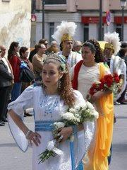 ROSTROS DE PERSONAJES BIBLICOS DE LA SEMANA SANTA MARINERA