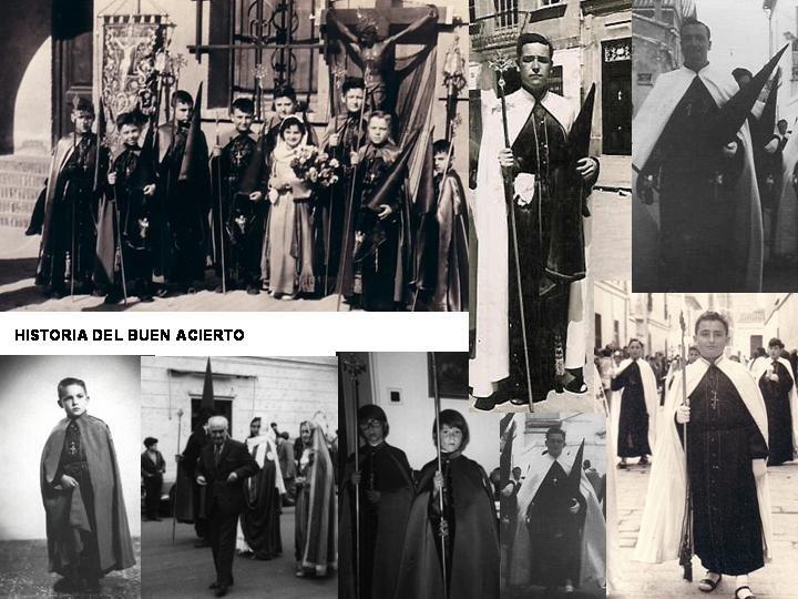 CUCARACHAS negras.HISTORIA PROCESIONAL DEL BUEN ACIERTO