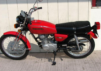 1980 Honda CB125S Red   Classic and Vintage Motorcycles