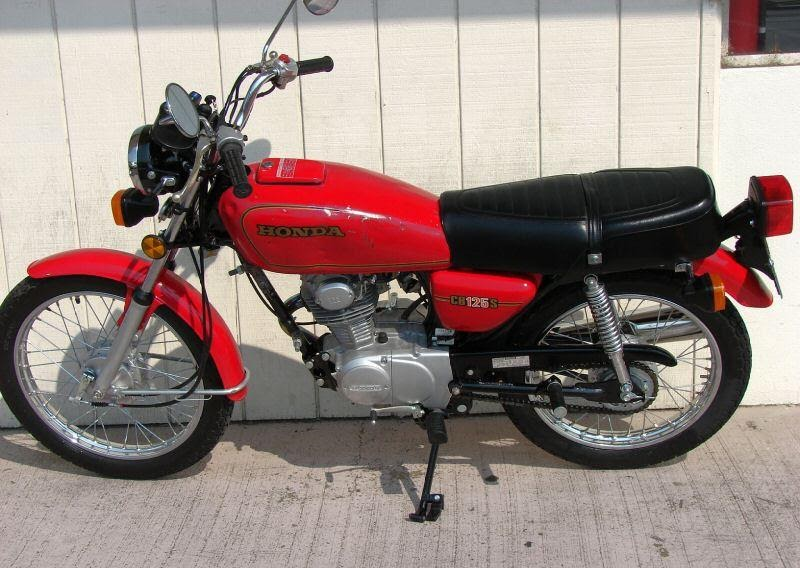 Motorcycle performance 1980 honda cb125s red motorcycle for 1980s honda motorcycles