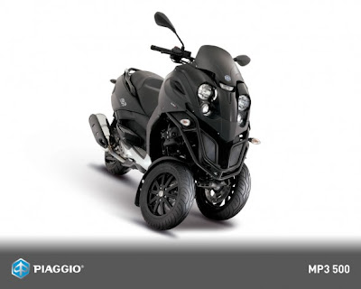 custom modifications 2009 piaggio mp3 500 motorcycle. Black Bedroom Furniture Sets. Home Design Ideas