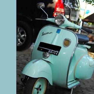 Motor Matic Vespa on Vespa Alfanky  Vespa 1961 125cc  Vespa Kenthus