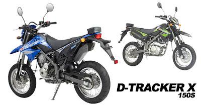 Kawasaki D-TRACKER X 150S - Gambar dan Spesifikasi