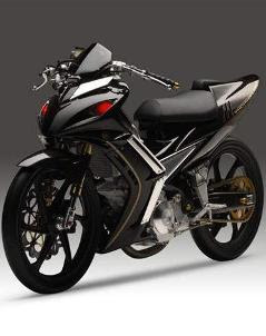 2010 Yamaha Jupiter MX Modifikasi Racing Style