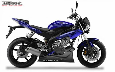 Honda modif trend Tiger 200 CC Sporty 2011