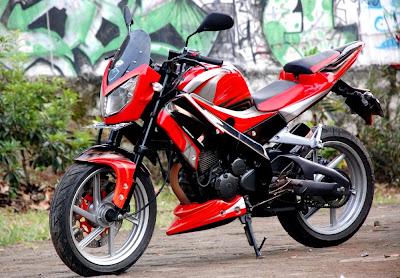 Modif StreetFighter Yamaha Scorpio R6