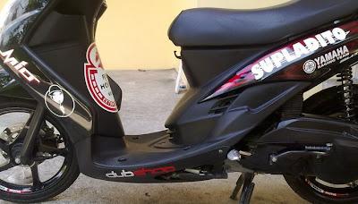 Gambar Modifikasi Yamaha Mio Fino Vs Honda Beat Terbaru 2013