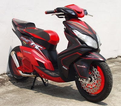 Concept Modif Yamaha Xeon 125