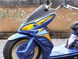 Honda Vario Contest Motor Modif low rider