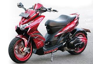 Modif Yamaha  MIO Soul 2010 Low Rider