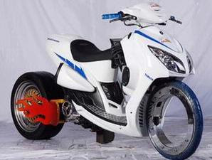 Modif Yamaha Mio, Soul, Xeon Low Rider taste