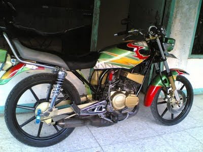 Top modifikasi yamaha rx king solo