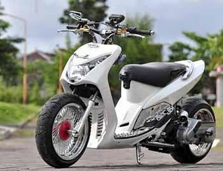 Top galeri modifikasi mio sporty