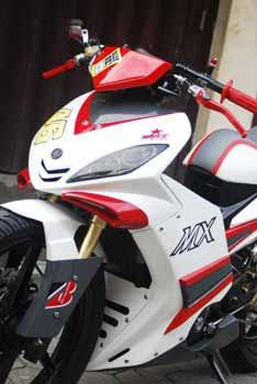 Modifikasi Jupiter Mx Elegan