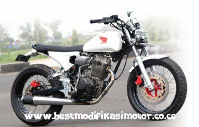 Picture of Motor Cb Modifikasi