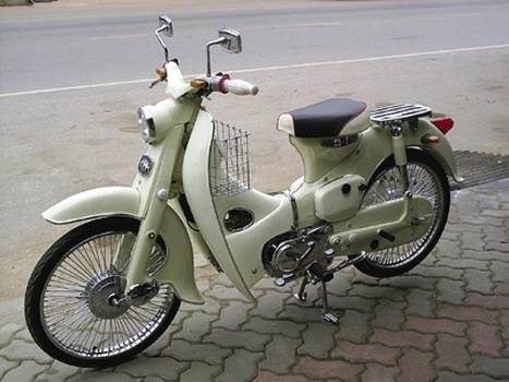 Honda Classic Motorcycles   Honda Classic C 50 Moped 1965