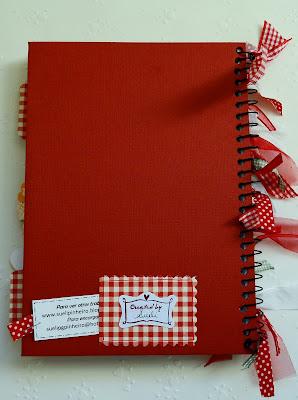 Cuaderno Alterado, Recetario, Sellos Magnolia