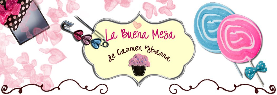 la buena mesa de Carmen Ybarra