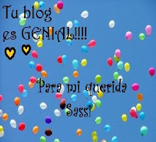 PREMIO BLOG GENIAL PARA SASSENACH