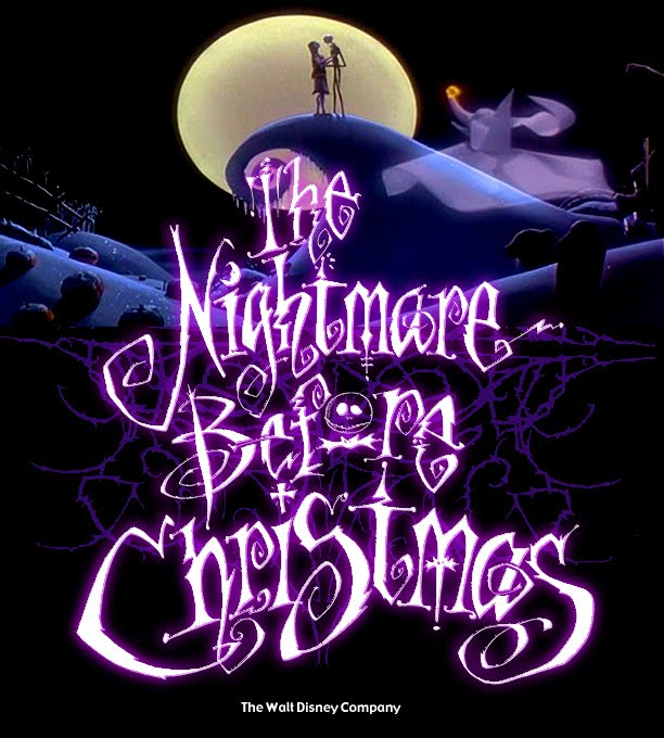 Mark Allen Design Blog: THE NIGHTMARE BEFORE CHRISTMAS LOGO