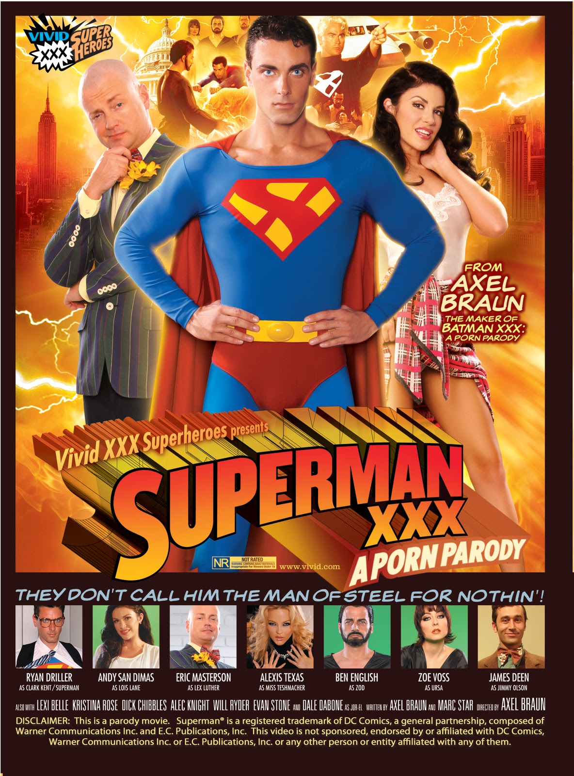 Superman XXX Porn Parody Cover '' MaxXxCock '': Free Gay Porn Videos Online: Full: He's Gonna Like It
