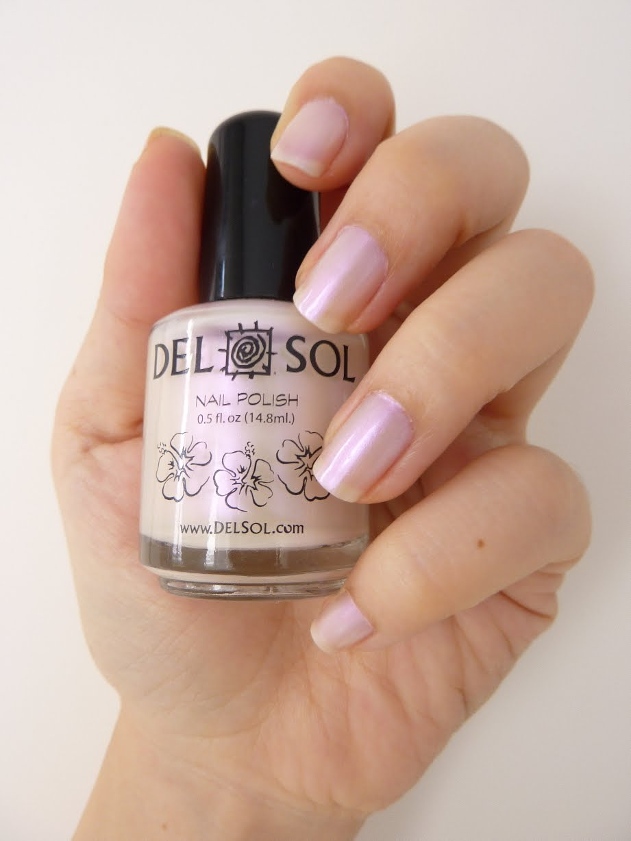 NOTD Del Sol Sun Activated Nail Polish | Bless My Bag