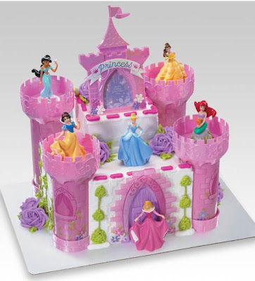 princess birthday cake show
