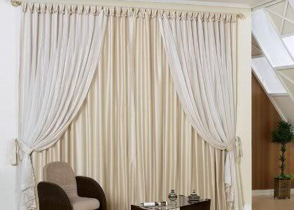 Cortinas modelos for Modelos de cortinas de salon