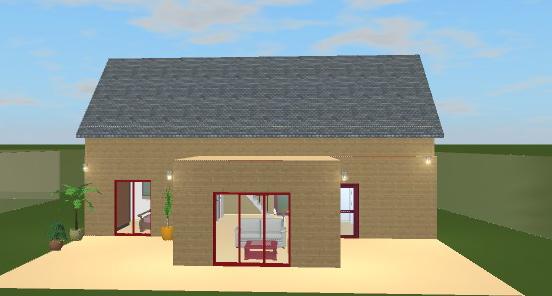 Maison En Forme De T une maison-bois en sud bretagne: dessine moi une maison