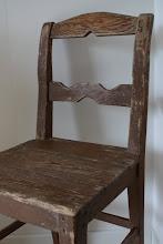 Ärvd stol med patina