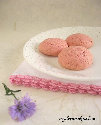 Cardamom Rose Meringues Recipe — Dishmaps