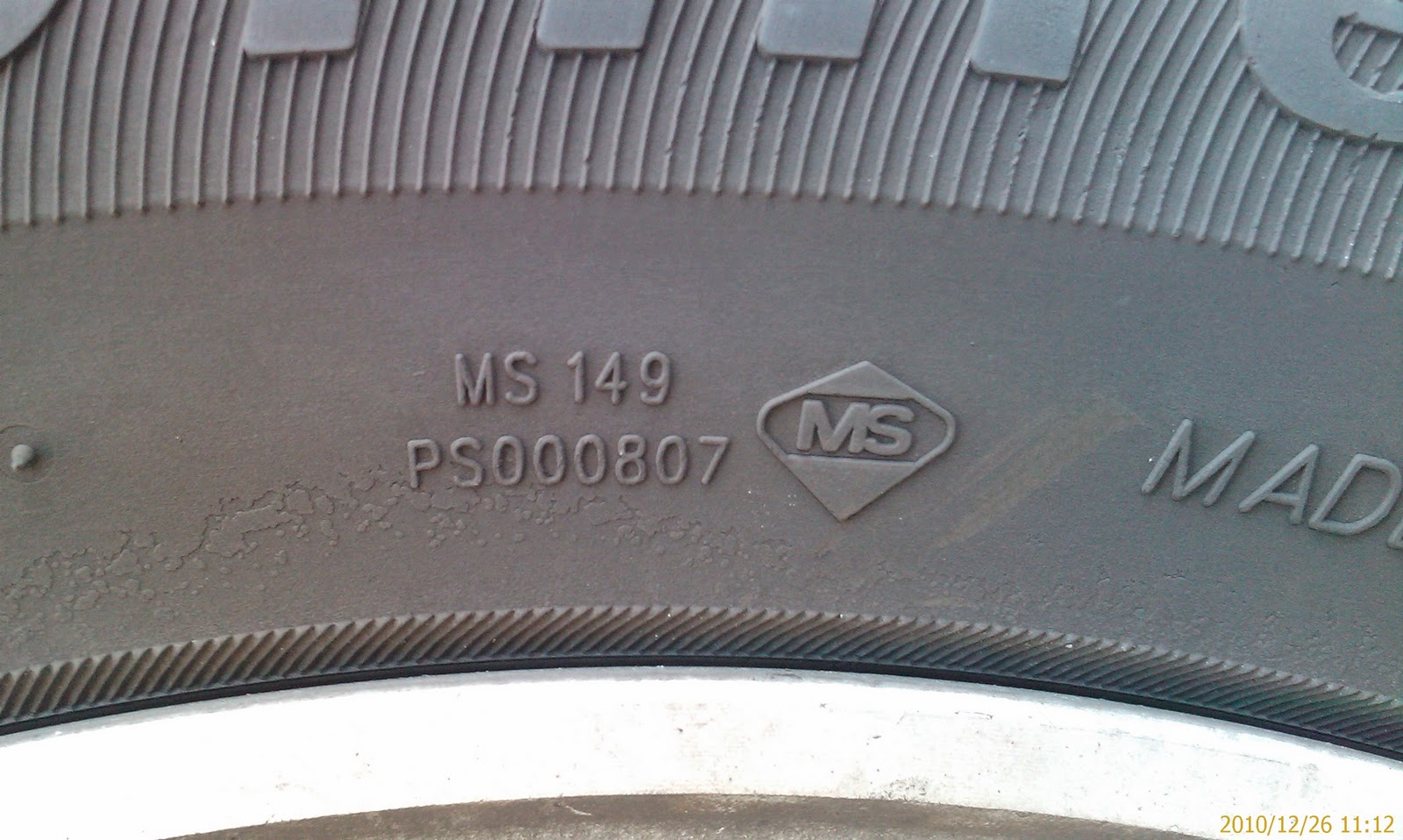 how to read a tire manufacture date