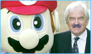 Des Lynam, Super Mario Sunshine, moustache