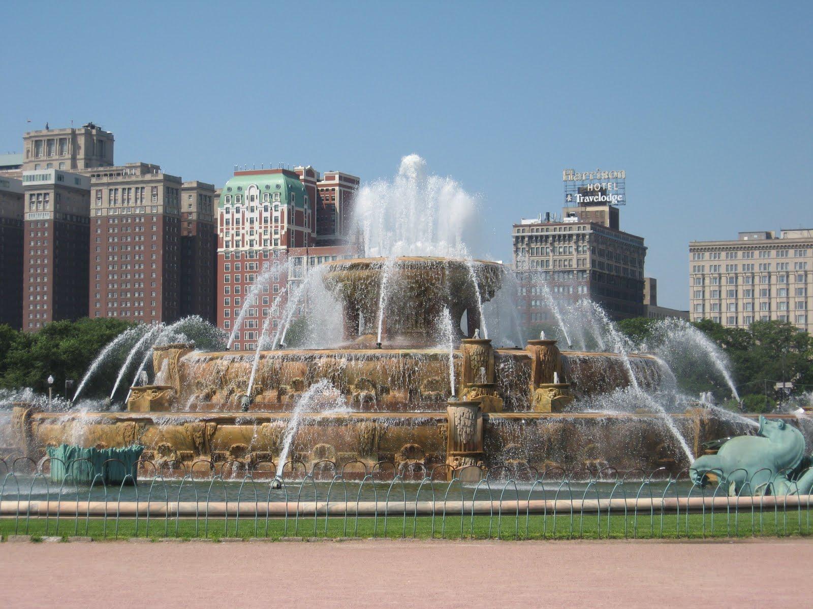 buckingham fountain chicago-#6