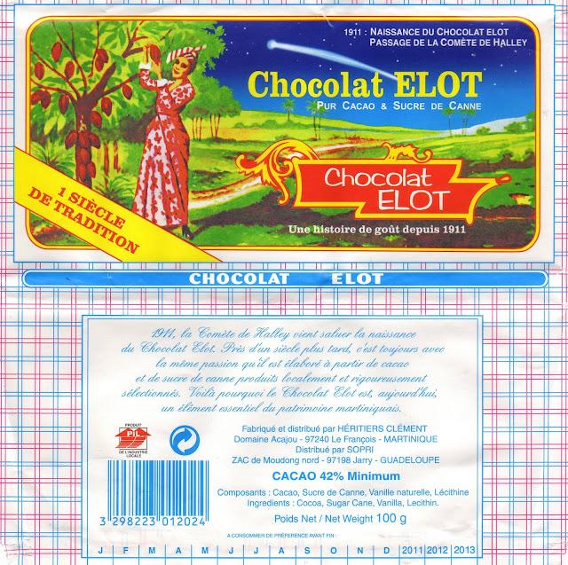 tablette de chocolat noir dégustation elot chocolat noir 42