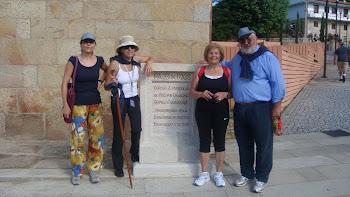 A Peregrinación de Cámaras e Concellos do Camiño Portugues (Tramo Porriño - Mos)